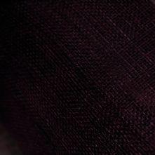 Aubergine Purple Milliner's Sinamay